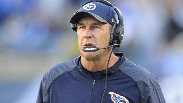 Tennessee Titans interim head coach Mike Mularkey