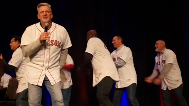 Boston Red Sox pitching coach Carl Willis