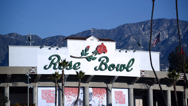 General view of the Rose Bowl