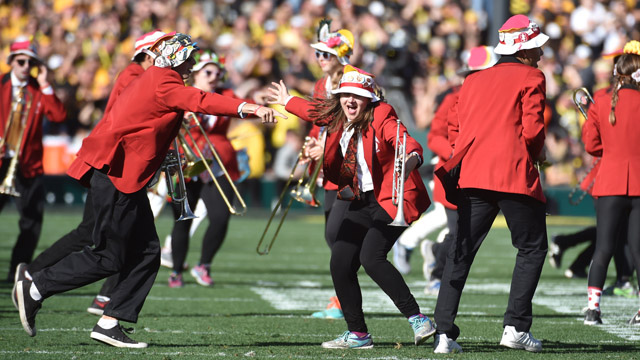 The Stanford Cardinal band