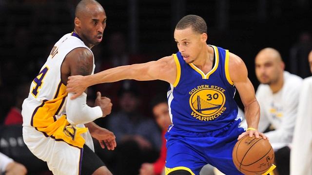 Kobe Bryant, Steph Curry