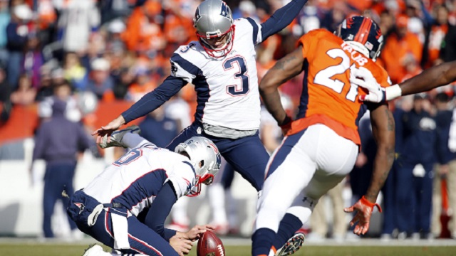 Stephen Gostkowski misses extra point in AFC Championship Game
