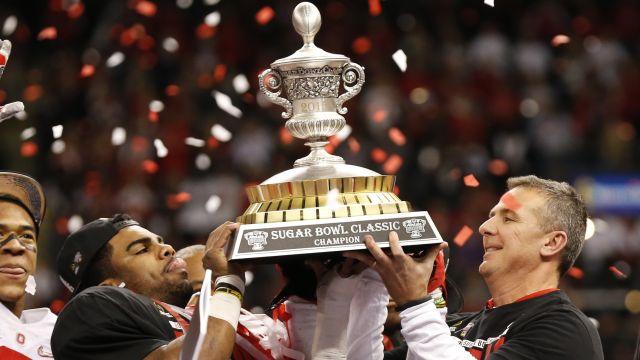 Sugar Bowl trophy