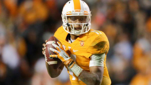 Tennessee quarterback Joshua Dobbs