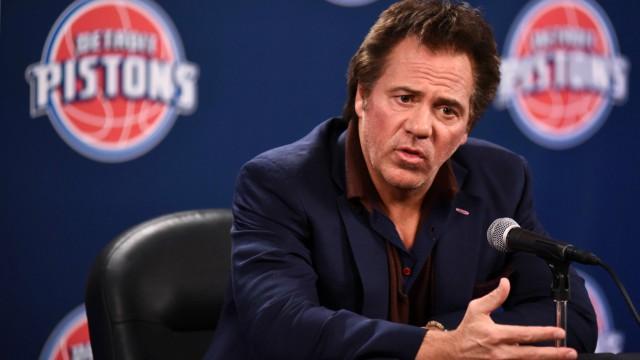 Detroit Pistons owner Tom Gores