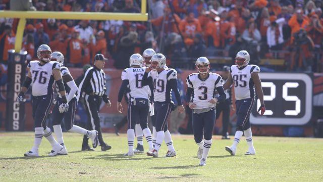 New England Patriots kicker Stephen Gostkowski