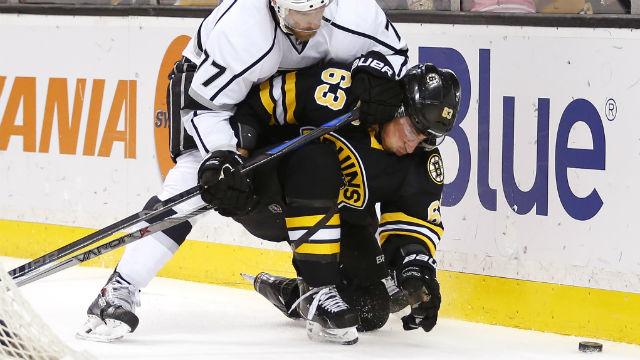 Boston Bruins left wing Brad Marchand