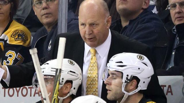 Boston Bruins head coach Claude Julien