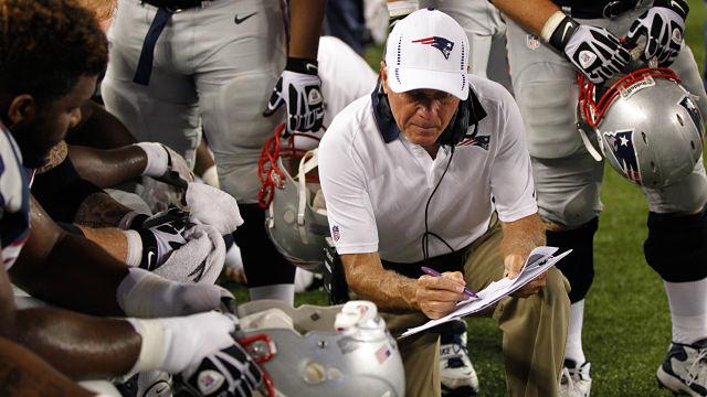 Ex-New England Patriots offensive line coach Dante Scarnecchia