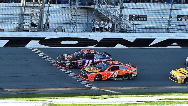 Denny Hamlin wins the Daytona 500