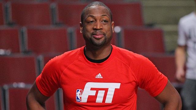 Miami Heat guard Dwyane Wade