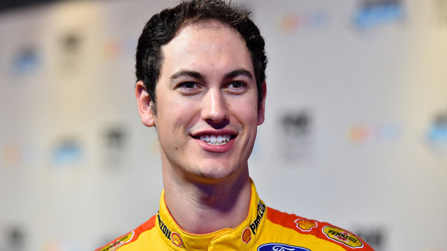 NASCAR Sprint Cup Series driver Joey Logano