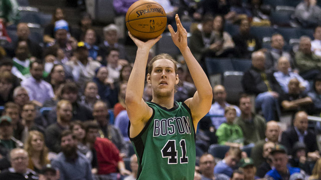 Celtics forward Kelly Olynyk