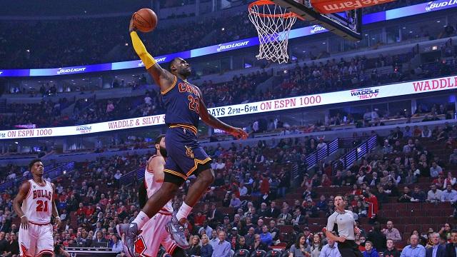 LeBron James, Bulls