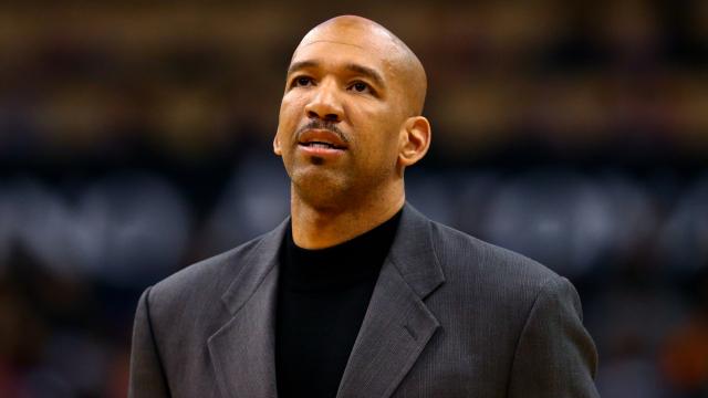 New Orleans Pelicans head coach Monty Williams