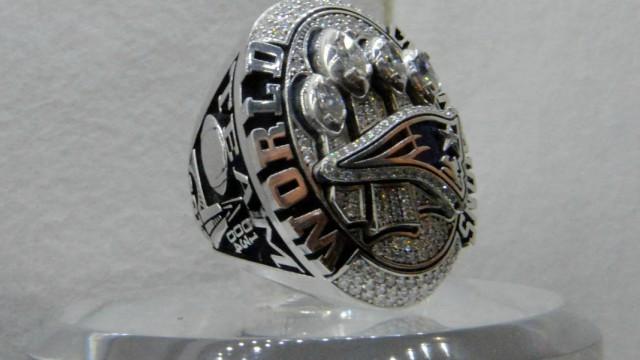 New England Patriots Super Bowl ring
