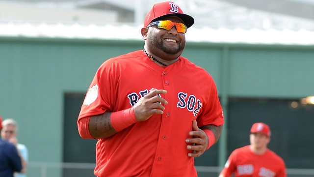 Boston Red Sox infielder Pablo Sandoval