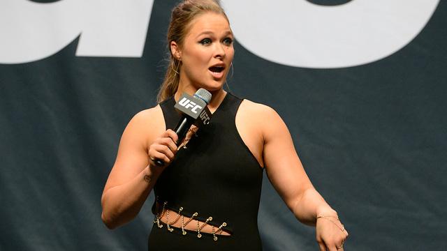 Former UFC women's bantamweight champion Ronda Rousey