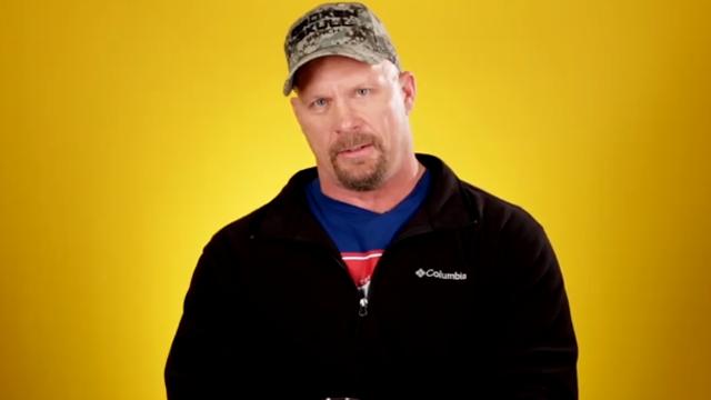 Former WWE wrestler Stone Cold Steve Austin