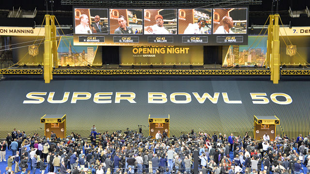 Super Bowl 50 Opening Night