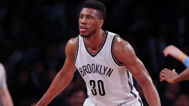 Nets forward Thaddeus Young