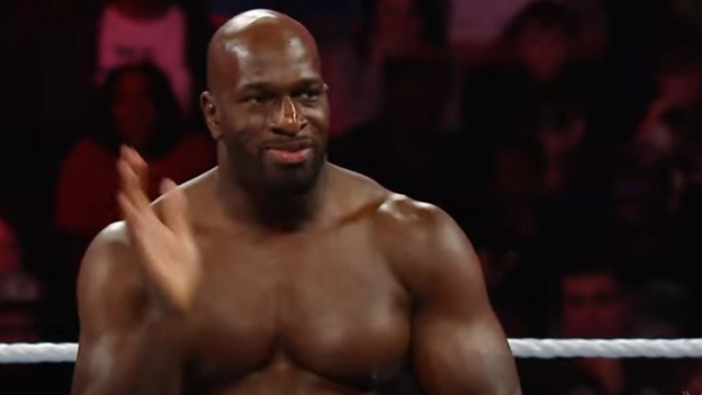 WWE superstar Titus O'Neil
