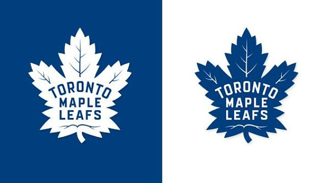 Toronto Maple Leafs' new logo for 2016-17