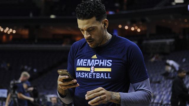 Memphis Grizzlies forward Matt Barnes