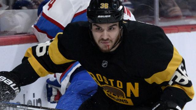 Boston Bruins forward Zac Rinaldo