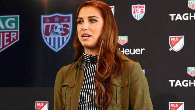 Womens World Cup champion Alex Morgan