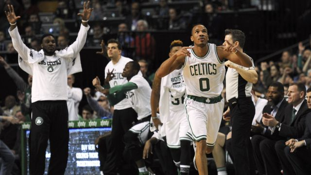 Celtics guard Avery Bradley