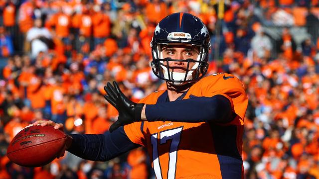 Denver Broncos quarterback Brock Osweiler