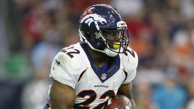 Denver Broncos running back C.J. Anderson