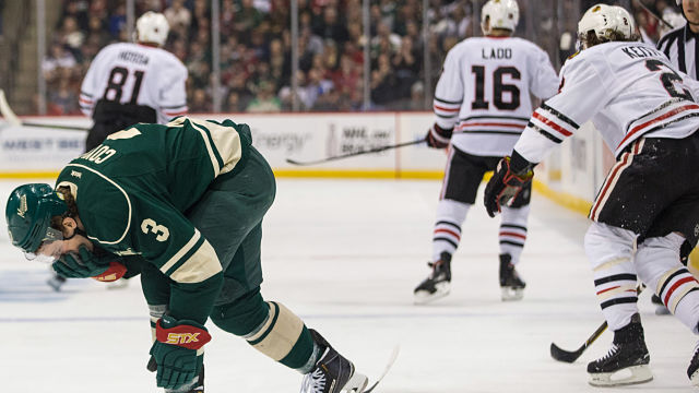 Charlie Coyle, Duncan Keith