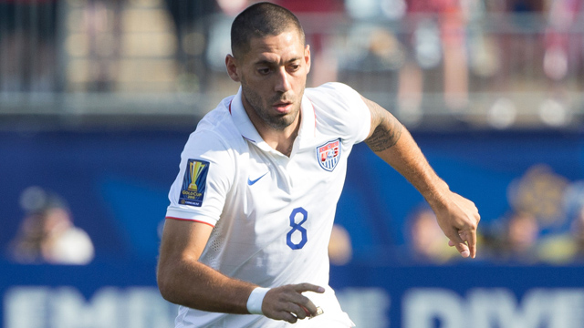 United States forward Clint Dempsey