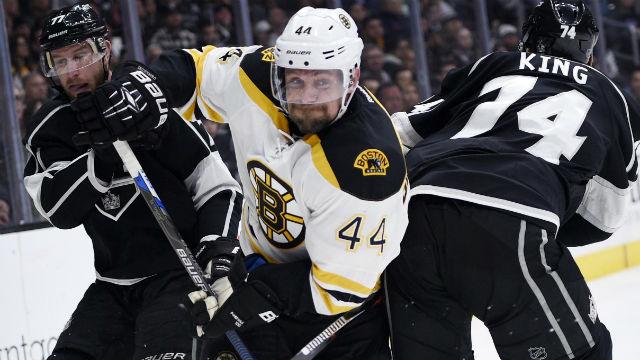 Boston Bruins defenseman Dennis Seidenberg
