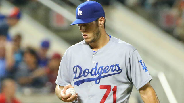 Los Angeles Dodgers relief pitcher Josh Ravin