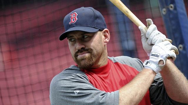 Boston Red Sox third baseman Kevin Youkilis