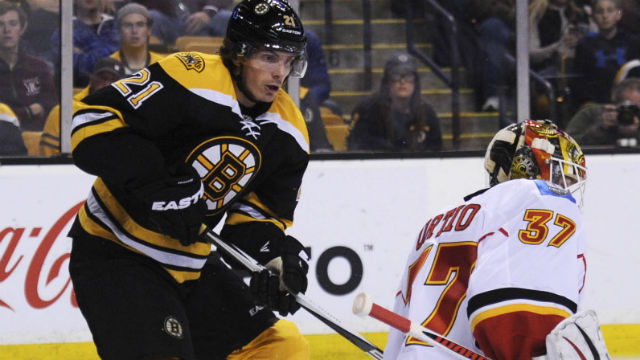 Boston Bruins left wing Loui Eriksson