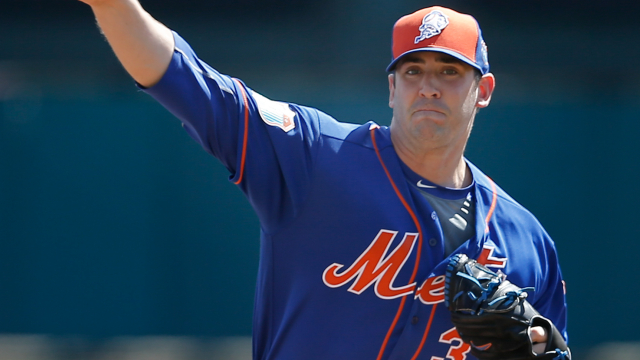 New York Mets pitcher Matt Harvey