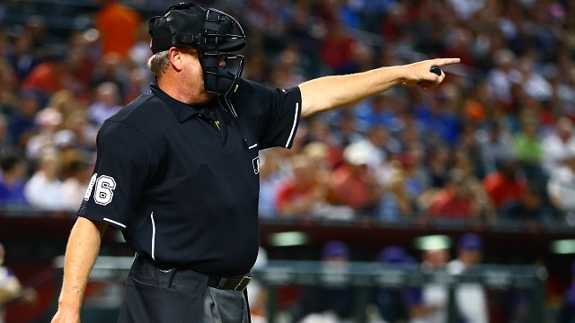 MLB umpire Jim Joyce
