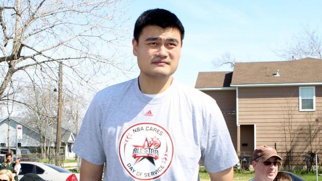 Yao Ming Hall of Fame