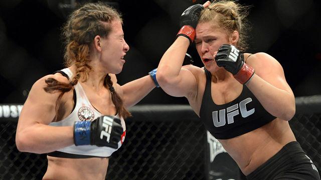 UFC's Ronda Rousey and Miesha Tate