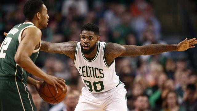 Celtics forward Amir Johnson