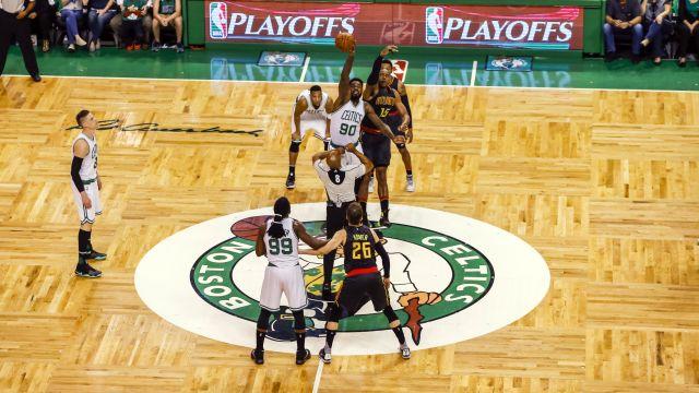 Celtics and Hawks tip off