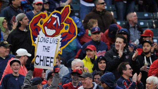 Cleveland Indians Chief Wahoo logo