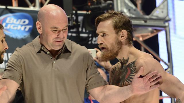 Dana White, Conor McGregor