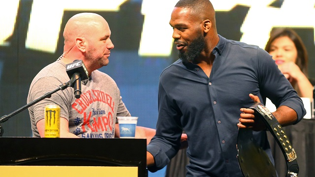 Dana White, Jon Jones