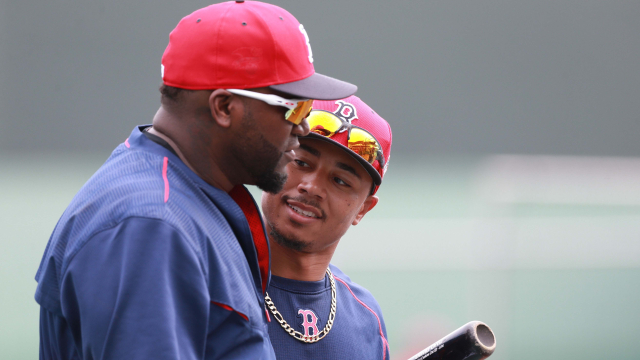 David Ortiz, Mookie Betts