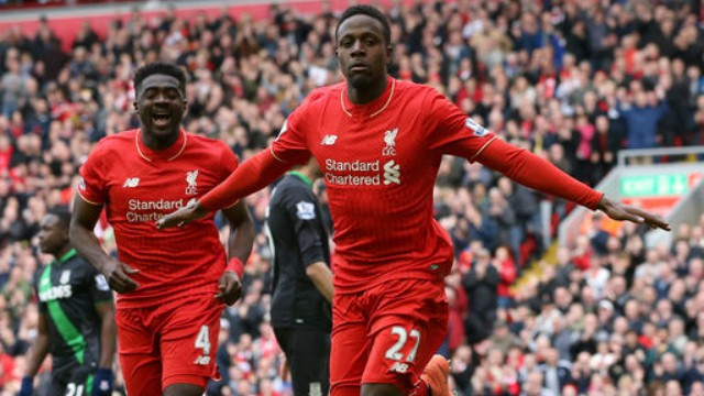 Divock Origi and Kolo Toure